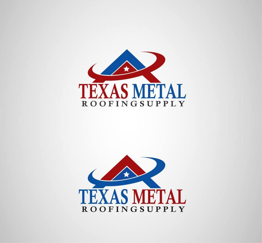 Bài tham dự cuộc thi #                                        113                                      cho                                         Design a Logo for Texas Metal Roofing Supply
