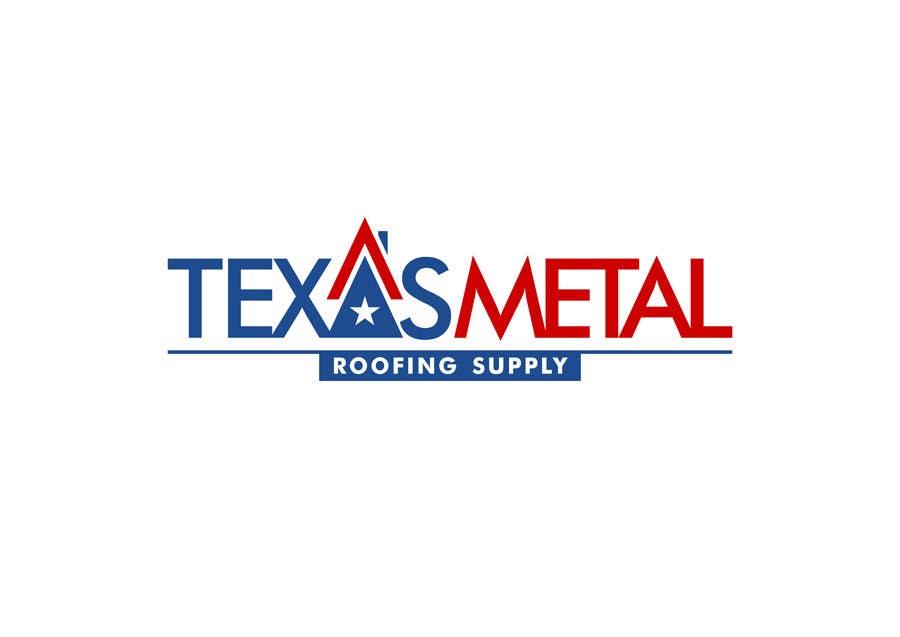 Bài tham dự cuộc thi #                                        118                                      cho                                         Design a Logo for Texas Metal Roofing Supply
