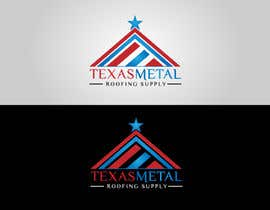 #146 for Design a Logo for Texas Metal Roofing Supply by Cbox9