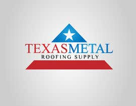 #160 for Design a Logo for Texas Metal Roofing Supply by Cbox9