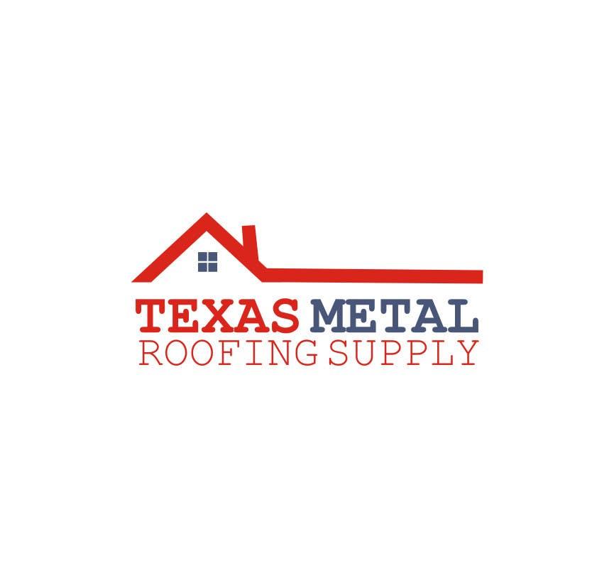 Bài tham dự cuộc thi #                                        87                                      cho                                         Design a Logo for Texas Metal Roofing Supply