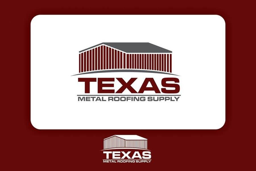 Bài tham dự cuộc thi #                                        18                                      cho                                         Design a Logo for Texas Metal Roofing Supply