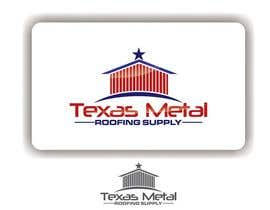 nº 110 pour Design a Logo for Texas Metal Roofing Supply par ajdezignz