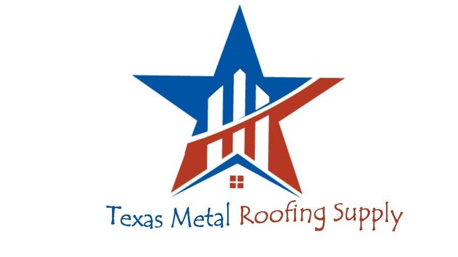 Bài tham dự cuộc thi #                                        133                                      cho                                         Design a Logo for Texas Metal Roofing Supply