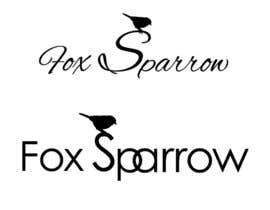 #71 for Design a Logo for Fox Sparrow af subhamajumdar81