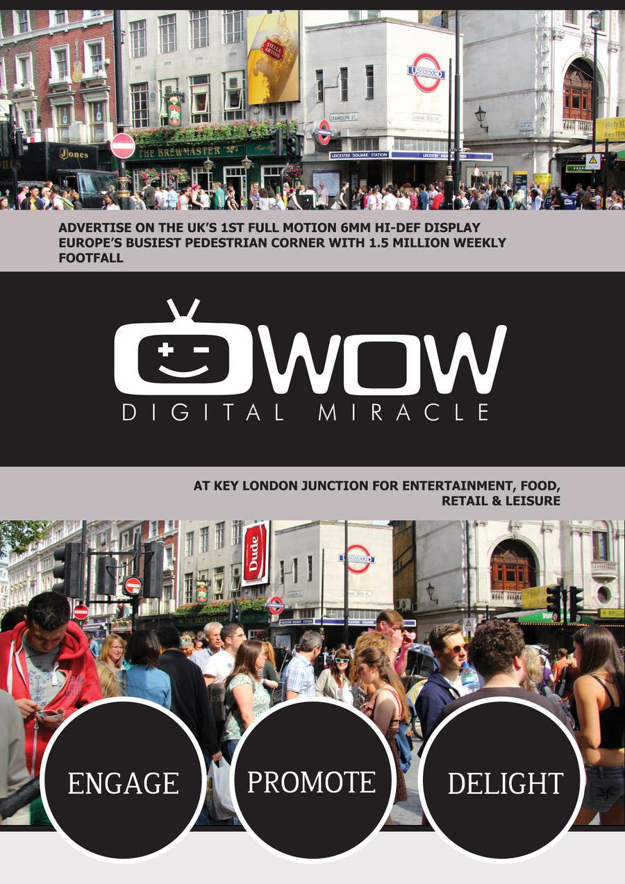 #7 for Design a Brochure for Wow Digital Miracle by CreativeWebLab
