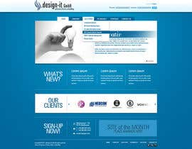 #12 cho Website Design for .design-it GmbH - software.internet.consulting bởi jappybe