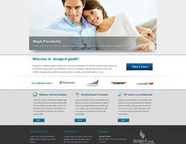 #17 untuk Website Design for .design-it GmbH - software.internet.consulting oleh trojanbuster