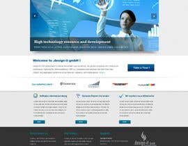 nº 22 pour Website Design for .design-it GmbH - software.internet.consulting par trojanbuster