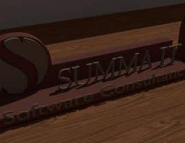 #32 for 3D PRINT CONTEST! Company logo and name by rrodrigues3d