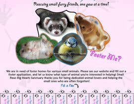 #19 cho Design a Flyer for a small animal rescue bởi darealMJ