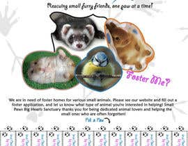 nº 20 pour Design a Flyer for a small animal rescue par darealMJ