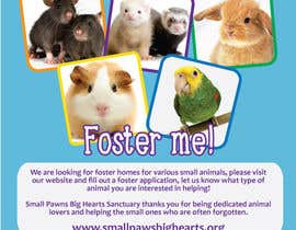 #51 for Design a Flyer for a small animal rescue af xiansepulveda