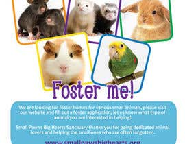 #52 for Design a Flyer for a small animal rescue af xiansepulveda