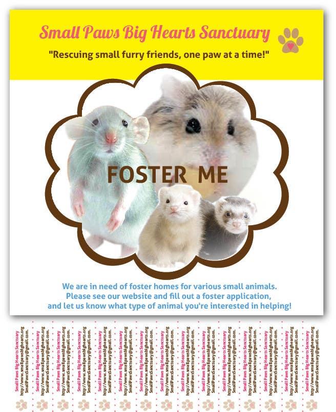Bài tham dự cuộc thi #                                        40                                      cho                                         Design a Flyer for a small animal rescue