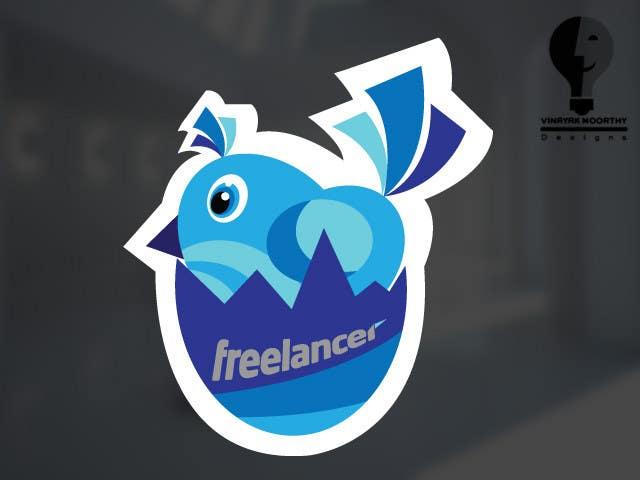 Bài tham dự cuộc thi #                                        50                                      cho                                         Help the Freelancer design team design a new die cut sticker