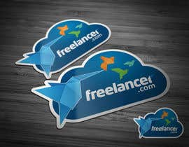 #78 untuk Help the Freelancer design team design a new die cut sticker oleh Brandwar