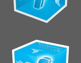 #86 for Help the Freelancer design team design a new die cut sticker by Studio7L