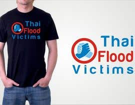 #114 untuk T-Shirt Design for Thai Flood Victims oleh madcganteng