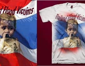 #110 para T-Shirt Design for Thai Flood Victims por lolish22