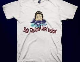#108 para T-Shirt Design for Thai Flood Victims por lolish22