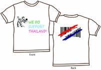Graphic Design Inscrição do Concurso Nº28 para T-Shirt Design for Thai Flood Victims