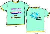 Graphic Design Inscrição do Concurso Nº30 para T-Shirt Design for Thai Flood Victims