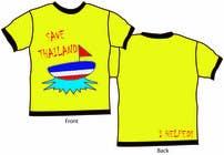 Graphic Design Inscrição do Concurso Nº45 para T-Shirt Design for Thai Flood Victims