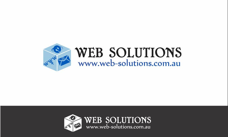 #233 for Graphic Design for Web Solutions by b0bby123