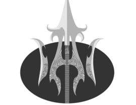 #16 cho High Quality Fantasy Trident Staff Logo Design bởi alwe17