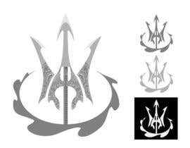 nº 18 pour High Quality Fantasy Trident Staff Logo Design par alwe17