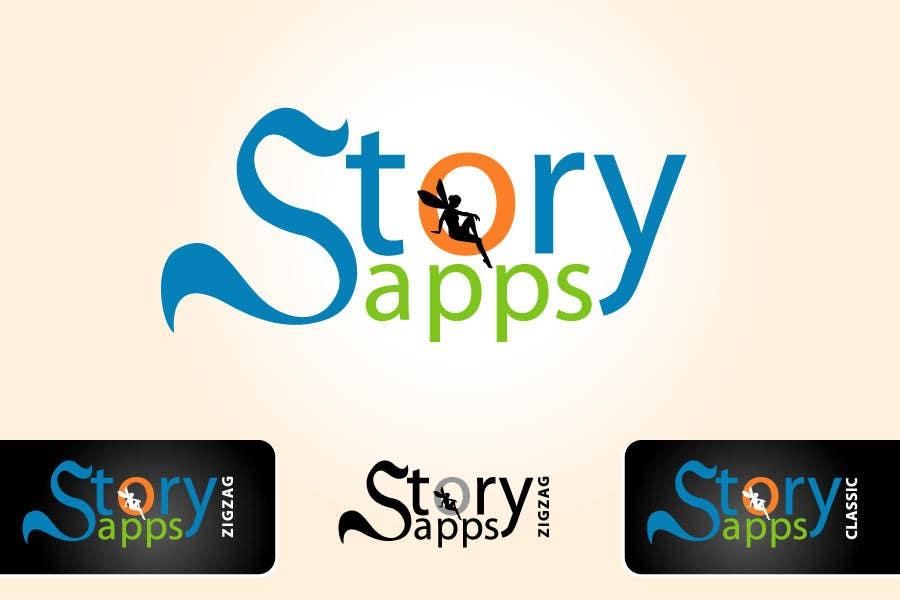 Penyertaan Peraduan #82 untuk Design a Logo for storyapps - plus two variations of logo