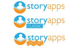 #48 untuk Design a Logo for storyapps - plus two variations of logo oleh LucianCreative