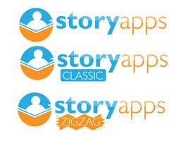 #51 for Design a Logo for storyapps - plus two variations of logo by LucianCreative