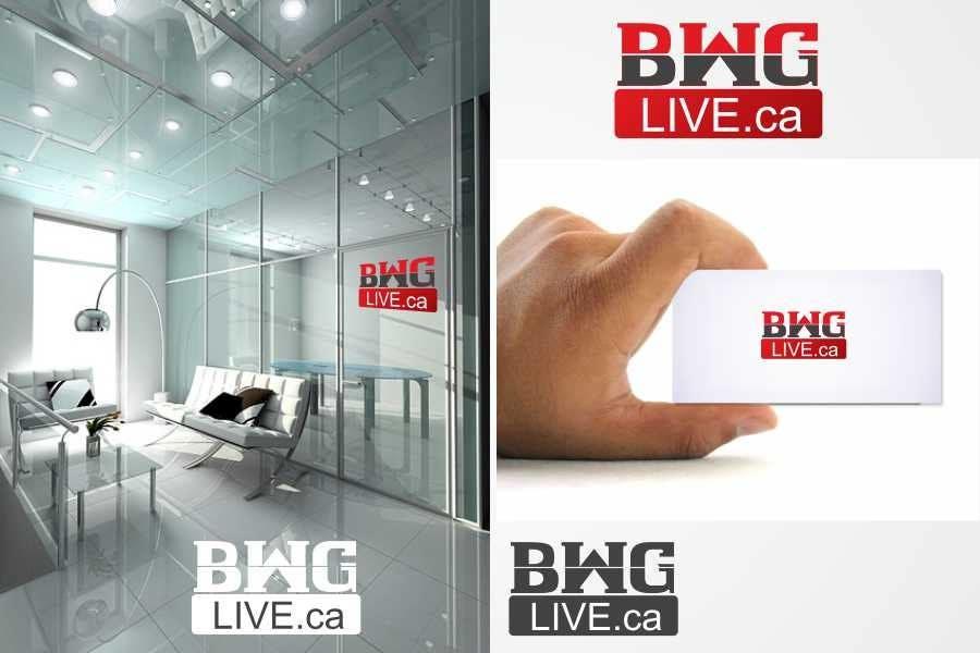 #100 for Design a Logo for bwglive.ca by jogiraj