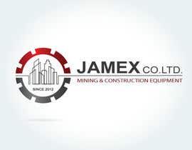 Nro 25 kilpailuun logo for jamex.co.jp a construction equipment exporter from tokyo käyttäjältä souamaria