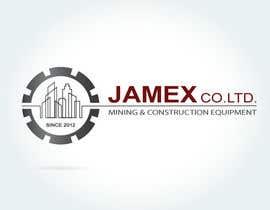 Nro 28 kilpailuun logo for jamex.co.jp a construction equipment exporter from tokyo käyttäjältä souamaria