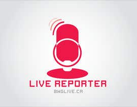#16 for Design a Logo for bwglive.ca LIVE REPORTERS af nitpicker