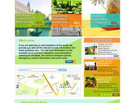 #16 cho Create a Website Layout for a Tourism Company bởi suvra4ever