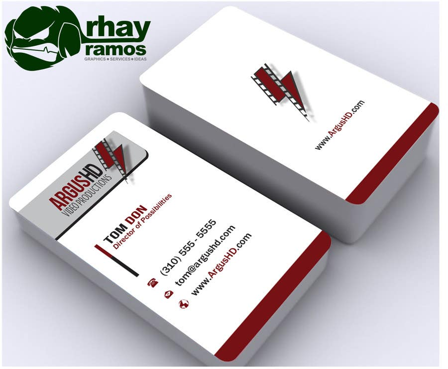 #49 for Business Card Design Contest : Using logo provide by rhayramos11