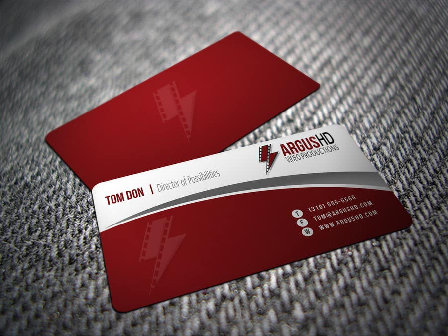 #22 for Business Card Design Contest : Using logo provide by shyRosely