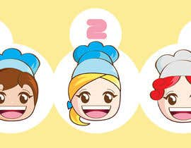 #8 untuk Illustrate 8 cartoon faces (of same character) with different facial expressions oleh sophialotus