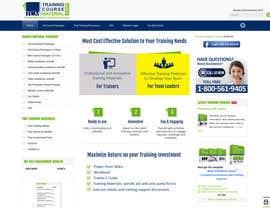 anj12 tarafından Above the fold webpage design için no 11
