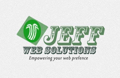 Bài tham dự cuộc thi #                                        82                                      cho                                         Design a Logo for Jeff Web Solutions