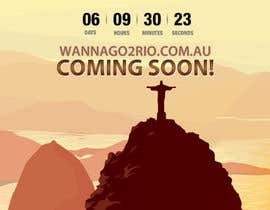 #24 for Design a Website Mockup for wannago2rio.com.au af Zeshu2011