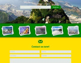 #7 for Design a Website Mockup for wannago2rio.com.au by JosephNgo