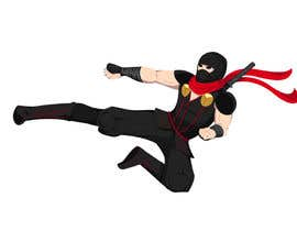 #5 untuk Redesign ninja character and create 3 poses in vector oleh Simonfat