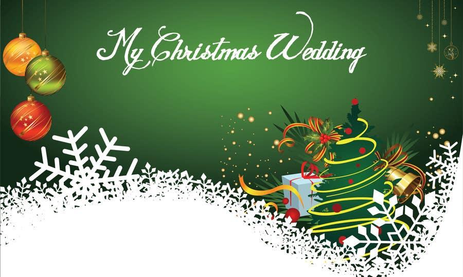 Bài tham dự cuộc thi #17 cho Christmas Wedding Site Graphics