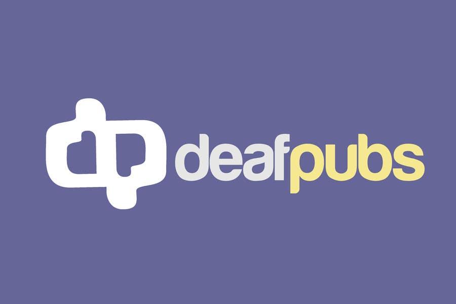 Penyertaan Peraduan #44 untuk Design a Logo for Deaf Pubs