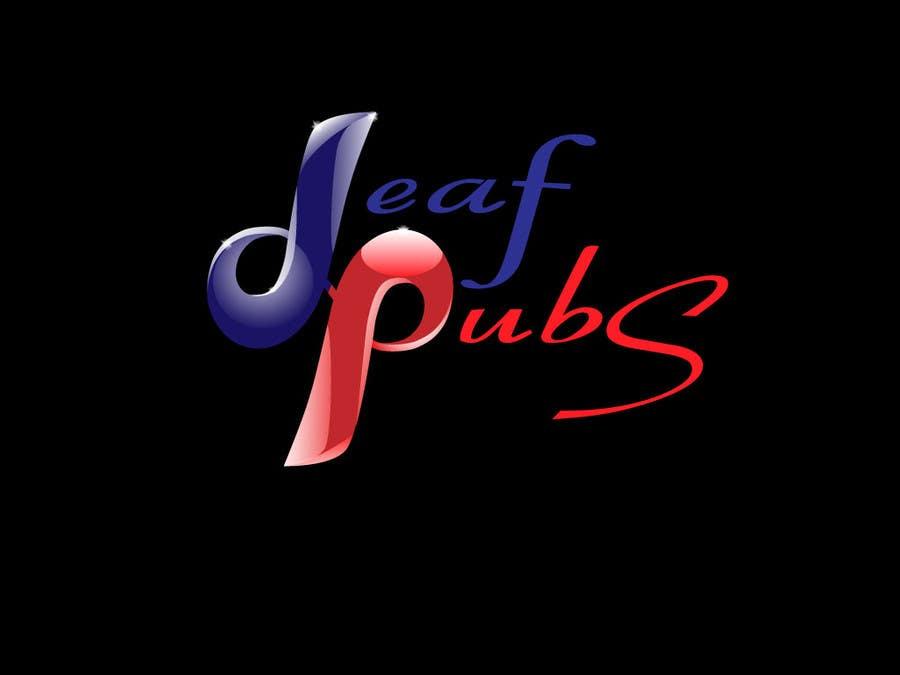 Penyertaan Peraduan #32 untuk Design a Logo for Deaf Pubs